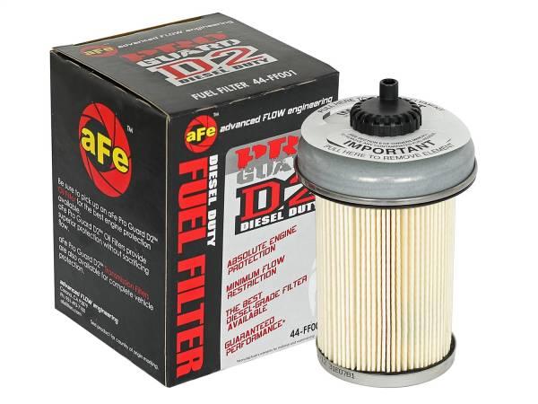 aFe Power - AFE Filters 44-FF001 PRO GUARD D2 Fuel Filter GM Diesel Trucks 92-00 V8-6.2/6.5L (td)