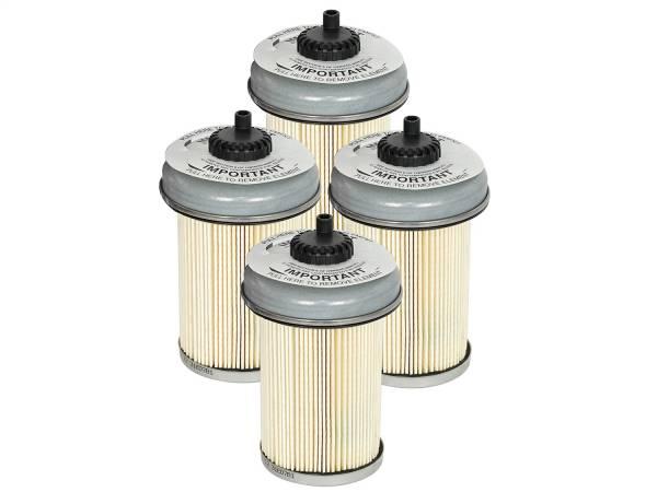 aFe Power - AFE Filters 44-FF001-MB PRO GUARD D2 Fuel Filter (4 Pack) GM Diesel Trucks 92-00 V8-6.2/6.5L (td)