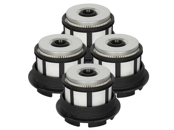 aFe Power - AFE Filters 44-FF007-MB PRO GUARD D2 Fuel Filter (4 Pack) Ford Diesel Trucks 99-03 V8-7.3L (td)