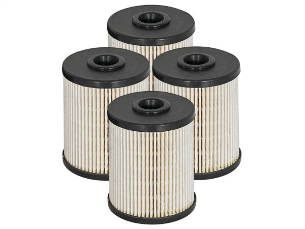 aFe Power - AFE Filters 44-FF010-MB PRO GUARD D2 Fuel Filter (4 Pack) Dodge Diesel Trucks 00-07 L6-5.9L (td)