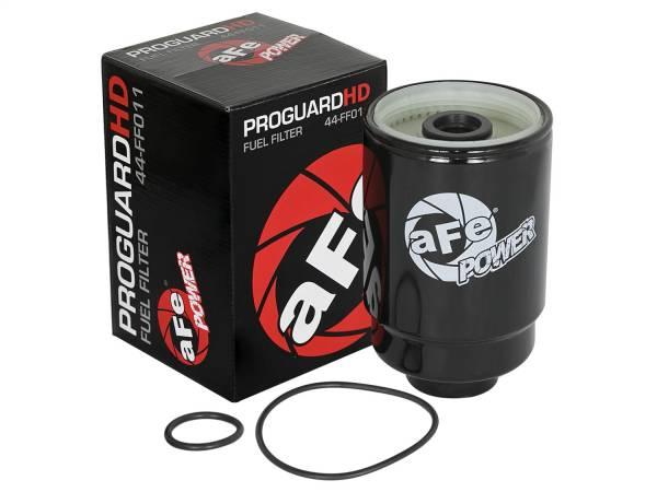 aFe Power - AFE Filters 44-FF011 PRO GUARD D2 Fuel Filter GM Diesel Trucks 01-16 V8-6.6L (td) LLY/LBZ/LMM/LML