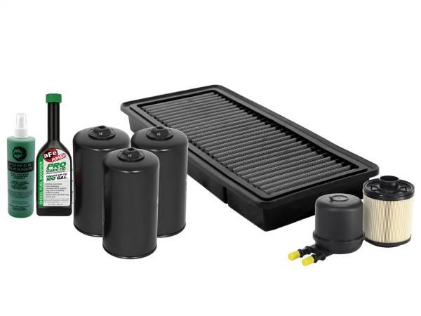 aFe Power - AFE Filters 44-SP004 aFe Power Filter Service Package Ford Diesel Trucks 11-16 V8-6.7L (td)