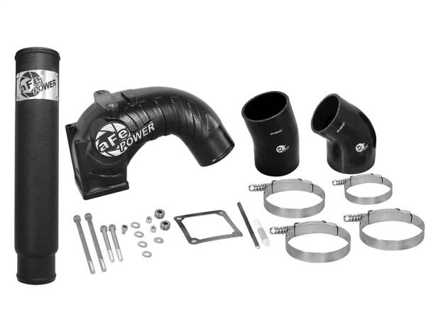 aFe Power - AFE Filters 46-11112 BladeRunner Intake Manifold w/Intercooler Tube Dodge Diesel Trucks 98.5-02 L6-5.9L (td)