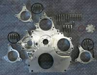 Engine Parts - Parts & Accessories - Wehrli Custom Fabrication - Wehrli Custom Fabrication Duramax Billet Front Engine Cover