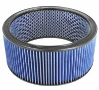Air Intakes & Accessories - Air Filters - aFe Power - AFE Filters 10-20015 Magnum FLOW PRO 5R Round Racing Air Filter (14 IN OD x 12 ID x 6 IN H w/Expanded Metal Structure)