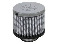 aFe Power - AFE Filters 18-01381 Magnum FLOW PRO DRY S Air Filter 1-3/8 IN F x 3 B x 3 IN T x 2-1/2 IN H-Chrome