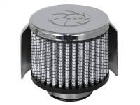 aFe Power - AFE Filters 18-01502 Magnum FLOW PRO DRY S Air Filter 1-1/2 IN F x 3B x 3 IN T x 2-1/2 IN H-Chrome w/Heat Sheild