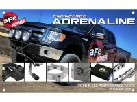 Shop By Part - Gear & Apparel - aFe Power - AFE Filters 40-10159 Ford F-150 Performance Product Banner 3ft x 5ft