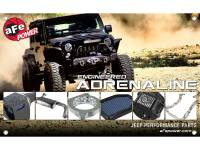 Shop By Part - Gear & Apparel - aFe Power - AFE Filters 40-10160 Jeep Wrangler (JK) Performance Product Banner 3ft x 5ft