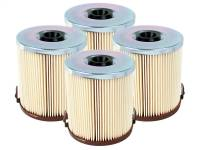 Fuel System & Components - Fuel System Parts - aFe Power - AFE Filters 44-FF009-MB PRO GUARD D2 Fuel Filter (4 Pack) Ford Diesel Trucks 94-97 V8-7.3L (td-di)