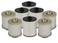 Fuel System & Components - Fuel System Parts - aFe Power - AFE Filters 44-FF013-MB PRO GUARD D2 Fuel Filter (4 Pack) Ford Diesel Trucks 08-10 V8-6.4L (td)