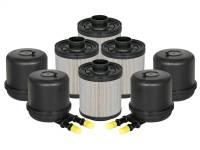 Fuel System & Components - Fuel System Parts - aFe Power - AFE Filters 44-FF014-MB PRO GUARD D2 Fuel Filter (4 Pack) Ford Diesel Trucks 11-17 V8-6.7L (td)