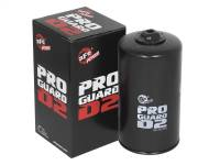 Engine Parts - Oil System - aFe Power - AFE Filters 44-LF004 PRO GUARD D2 Oil Filter Ford Diesel Trucks 94-03 V8-7.3L (td)