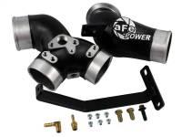 Exhaust - Exhaust Manifolds - aFe Power - AFE Filters 46-10061 BladeRunner Intake Manifold Ford Diesel Trucks 99-03 V8-7.3L (td)