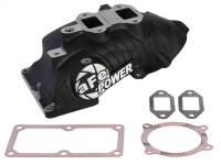 Exhaust - Exhaust Manifolds - aFe Power - AFE Filters 46-10073-1 BladeRunner Intake Manifold Dodge RAM Diesel Trucks 07.5-16 L6-6.7L (td)