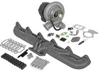 Turbo Chargers & Components - Turbo Chargers - aFe Power - AFE Filters 46-60060-MA BladeRunner Street Series Turbocharger w/Exhaust Manifold Dodge Diesel Trucks 94-98 L6-5.9L (td)