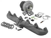 Turbo Chargers & Components - Turbo Chargers - aFe Power - AFE Filters 46-60060-MB BladeRunner Street Series Turbocharger w/Exhaust Manifold Dodge Diesel Trucks 98.5-02 L6-5.9L (td)