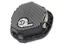 aFe Power - AFE Filters 46-70012 Pro Series Rear Differential Cover Black w/Machined Fins Dodge Trucks 03-14 L6-5.9/6.7L (td); GM 01-07 V8-8.1L; GM Trucks 01-17 6.6L (td) (AAM 11.50-14 Bolt Axles)