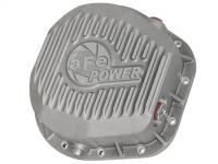 AFE Filters 46-70020 Street Series Rear Differential Cover Raw w/Machined Fins Ford F-250/F-350/Excursion 86-16 V8-7.3L/6.0L/6.4L/6.7L (td)