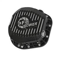 Steering And Suspension - Differential Covers - aFe Power - AFE Filters 46-70022 Pro Series Rear Differential Cover Black w/Machined Fins Ford F-250/F-350/Excursion 86-16 V8-7.3L/6.0L/6.4L/6.7L (td)