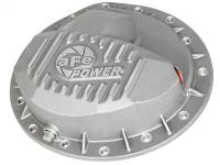 Steering And Suspension - Differential Covers - aFe Power - AFE Filters 46-70040 Street Series Front Differential Cover Raw w/Machined Fins Dodge Diesel Trucks 03-12 L6-5.9/6.7L (td) (AAM 9.25-14 Bolt Axles)