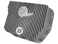 Transmission - Automatic Transmission Parts - aFe Power - AFE Filters 46-70050 Transmission Pan; Machined Fins Dodge Diesel Trucks 94-07 L6-5.9L (td) (727 (36RH; 37RH); 518 (46RH; 46RE); 618 (47RH; 47RE; 48RE) Transmission)