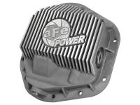 Steering And Suspension - Differential Covers - aFe Power - AFE Filters 46-70080 Street Series Front Differential Cover Raw w/Machined Fins Ford F-250/F-350/Excursion 99-16 V8-7.3L/6.0L/6.4L/6.7L (td)