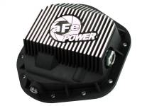 Steering And Suspension - Differential Covers - aFe Power - AFE Filters 46-70082 Pro Series Rear Differential Cover Black w/Machined Fins Ford F-250/F-350/Excursion 99-16 V8-7.3L/6.0L/6.4L/6.7L (td)