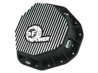 aFe Power - AFE Filters 46-70092 Pro Series Rear Differential Cover Black w/Machined Fins Dodge Diesel Trucks 03-05 L6-5.9L (td) (AAM 10.5-14 Bolt Axles)