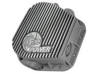 Steering And Suspension - Differential Covers - aFe Power - AFE Filters 46-70150 Street Series Rear Differential Cover Raw w/Machined Fins Ford F-150 97-16 (9.75-12 Bolt Axles)