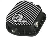 Steering And Suspension - Differential Covers - aFe Power - AFE Filters 46-70152 Pro Series Rear Differential Cover Black w/Machined Fins Ford F-150 97-16 (9.75-12 Bolt Axles)