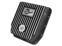 Transmission - Automatic Transmission Parts - aFe Power - AFE Filters 46-70212 Transmission Pan; Machined Fins Ford Trucks 80-92 (AOD Transmission)