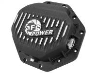 Steering And Suspension - Differential Covers - aFe Power - AFE Filters 46-70272 Pro Series Rear Differential Cover Black w/Machined Fins Dodge/RAM 94-16 (Corporate 9.25-12 Bolt Axles)
