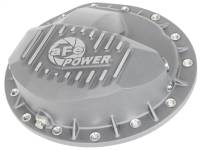 aFe Power - AFE Filters 46-70370 Street Series Rear Differential Cover Raw w/Machined Fins GM Trucks 99-13 (GM 9.5-14)