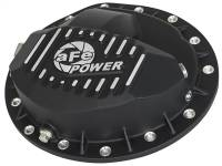 Steering And Suspension - Differential Covers - aFe Power - AFE Filters 46-70372 Pro Series Rear Differential Cover Black w/Machined Fins GM Trucks 99-13 (GM 9.5-14)