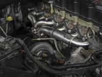 aFe Power - AFE Filters 48-32017 Twisted Steel 304 Stainless Steel Header w/T3 Turbo Flange Dodge Diesel Trucks 03-07 L6-5.9L (td) - Image 2