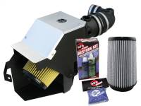 Air Intakes & Accessories - Air Intakes - aFe Power - AFE Filters 75-11262 Magnum FORCE Stage-2 PRO GUARD7 Cold Air Intake System Ford Diesel Trucks 08-10 V8-6.4L (td)