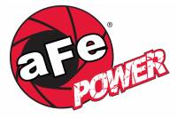 aFe Power - AFE Filters 40-10207 aFe POWER Motorsports Logo Urocal; Carbon Fiber 1.86 IN x 5.12 IN